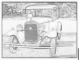 Imprimer le coloriage : Ford, numéro 104799