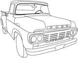 Imprimer le coloriage : Ford, numéro 13eb5d9a