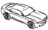 Imprimer le coloriage : Ford, numéro 160266