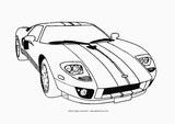 Imprimer le coloriage : Ford, numéro 390892