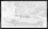 Imprimer le coloriage : Ford, numéro 61781