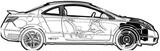 Imprimer le coloriage : Honda, numéro 104814