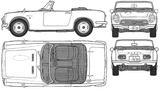 Imprimer le coloriage : Honda, numéro 104816