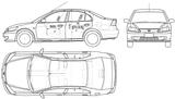 Imprimer le coloriage : Honda, numéro 104818