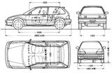 Imprimer le coloriage : Honda, numéro 104821