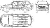 Imprimer le coloriage : Honda, numéro 104825
