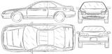 Imprimer le coloriage : Honda, numéro 104842