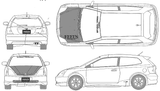 Imprimer le coloriage : Honda, numéro 104846