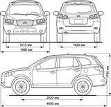 Imprimer le coloriage : Hyundai, numéro 104877