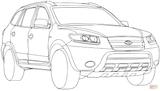 Imprimer le coloriage : Hyundai, numéro 10bcd102