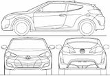 Imprimer le coloriage : Hyundai numéro 256365