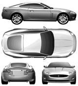 Imprimer le coloriage : Jaguar, numéro 105859