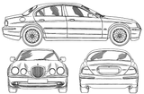 Imprimer le coloriage : Jaguar, numéro 105862