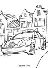 Imprimer le coloriage : Jaguar, numéro 105864