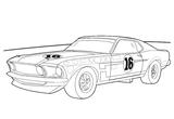 Imprimer le coloriage : Jaguar, numéro 148525