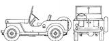 Imprimer le coloriage : Jeep, numéro 105899