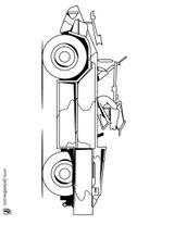 Imprimer le coloriage : Jeep, numéro 105906