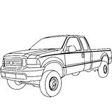 Imprimer le coloriage : Jeep, numéro 21869