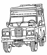 Imprimer le coloriage : Jeep, numéro 292593