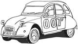 Imprimer le coloriage : Jeep, numéro 523882