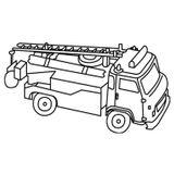 Imprimer le coloriage : Jeep, numéro 535470
