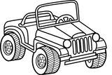 Imprimer le coloriage : Jeep, numéro dfb3fe4c