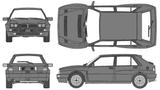 Imprimer le coloriage : Lancia, numéro 104949