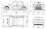 Imprimer le coloriage : Lancia, numéro 104951