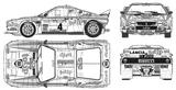 Imprimer le coloriage : Lancia, numéro 104952