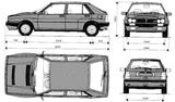 Imprimer le coloriage : Lancia, numéro 104954
