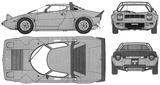 Imprimer le coloriage : Lancia, numéro 148345