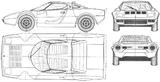 Imprimer le coloriage : Lancia, numéro 170434