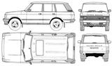 Imprimer le coloriage : Land Rover, numéro 105934
