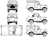 Imprimer le coloriage : Land Rover, numéro 105949