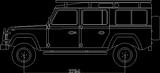 Imprimer le coloriage : Land Rover, numéro 148558