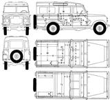 Imprimer le coloriage : Land Rover, numéro 368753