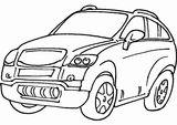 Imprimer le coloriage : Land Rover, numéro 9ba7e127