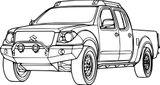 Imprimer le coloriage : Land Rover, numéro b63744
