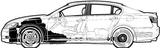 Imprimer le coloriage : Lexus, numéro 105964