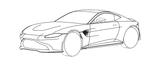 Imprimer le coloriage : Lexus, numéro 3576d2bb