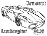 Imprimer le coloriage : Maserati numéro 138937