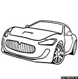 Imprimer le coloriage : Maserati, numéro 297438