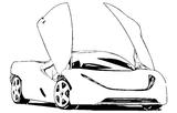 Imprimer le coloriage : Maserati, numéro 758475