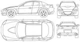 Imprimer le coloriage : Mazda, numéro 104995