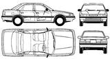 Imprimer le coloriage : Mazda, numéro 105005