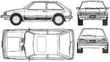 Imprimer le coloriage : Mazda, numéro 105006