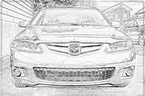 Imprimer le coloriage : Mazda, numéro 105010