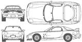 Imprimer le coloriage : Mazda, numéro 105015