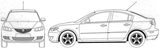 Imprimer le coloriage : Mazda, numéro 180537
