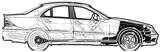 Imprimer le coloriage : Mercedes-Benz, numéro 106052